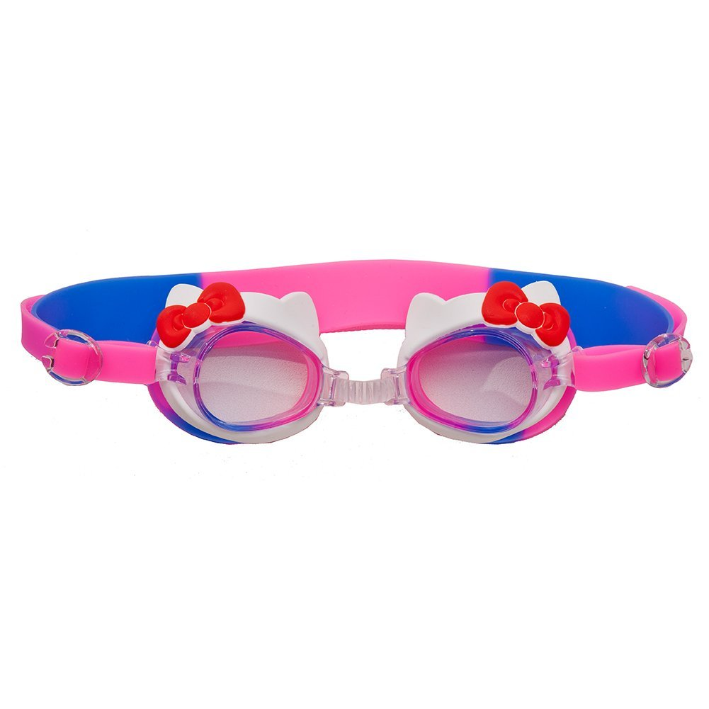 d09b035b325c Get Quotations · Kids Minnie Mouse Spiderman Spongebob Hello Kitty Swim  Goggles with Protective Case