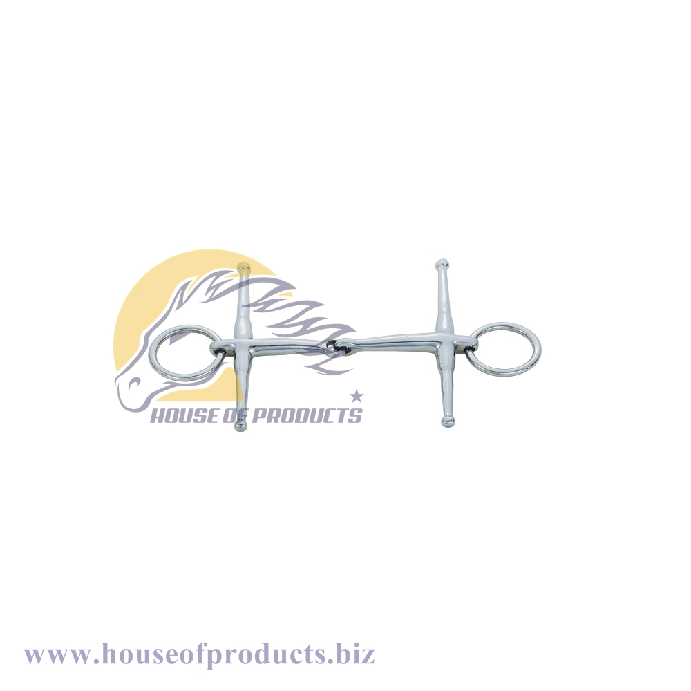 Loose Ring Full Cheek Snaffle bit SS