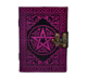 CELTIC SHADOW PENTAGRAM LEATHER JOURNAL BLANK DIARY NOTEBOOK 100% ECO FRIENDLY leather journal writing notebook
