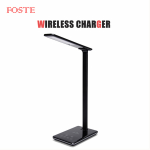 Foste Eye-Protection Led Charger Light Usb Charger Timer Poweroff Led Phone Wireless Mobile Phone Foldable Charger