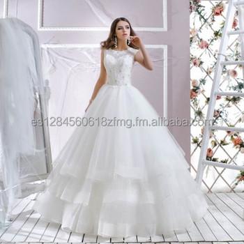 vestido de novia jasmine estilo princesa con falda de tul - buy