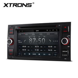 "XTRONS PR78QSF 7"" Android 8.1 Octa-core car multimedia system dvd player for Ford s-max/c max/fusion/fiesta support WiFi/4G"