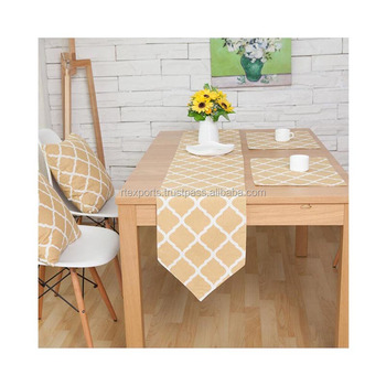 Top Quality Wholesale Price 100% Cotton Table Runner