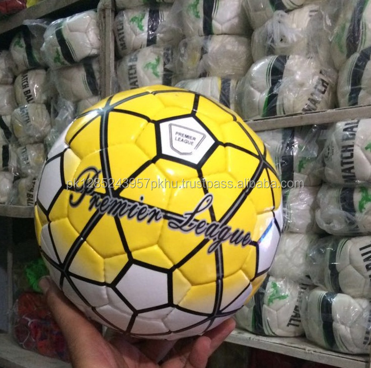 12 panels yellow color durable premier-league football the nike soccer ball