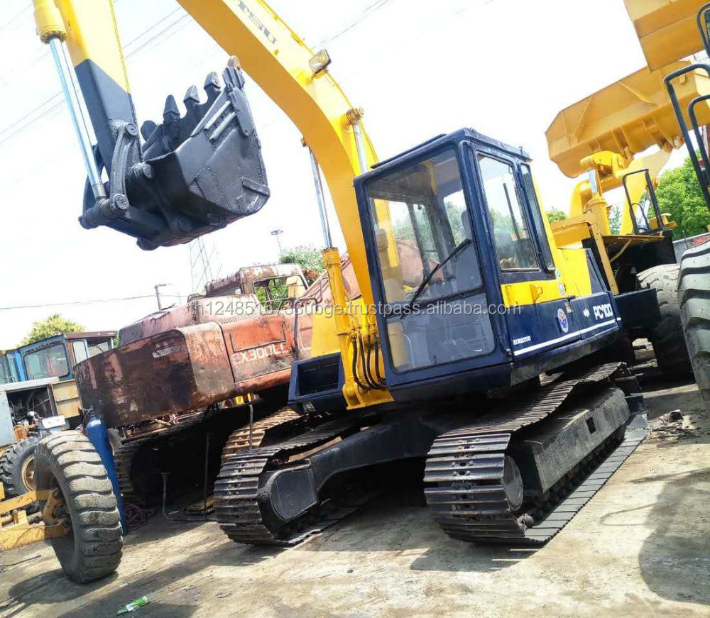 used komatsu PC100 excavator in lowest price with high quality