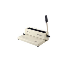 Hot sale Pingda W12 300mm A4 size manual book binding machine for office