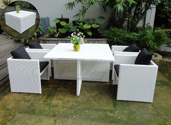 garden dining furniture rattan. hot sale poly rattan chair garden dining sets round table/ modern cane furniture r
