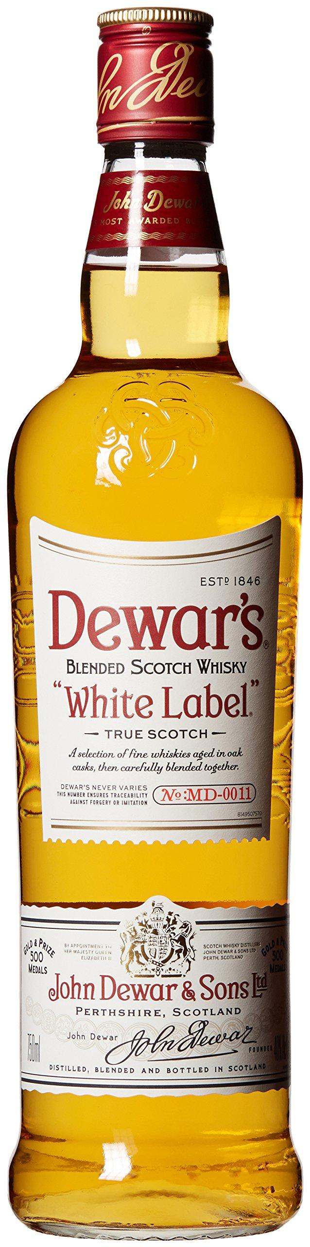 Dewar's White Label, 750 mL, 80 Proof