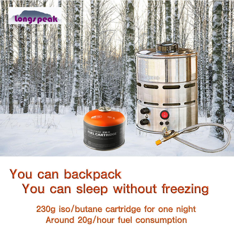 No Carbon Monoxide Portable Outdoor Camping Heater For