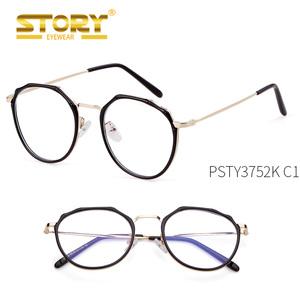 70c4a8c5dc4 PSTY3752K 2018 Ultra light metal round optical frames classic eyeglasses