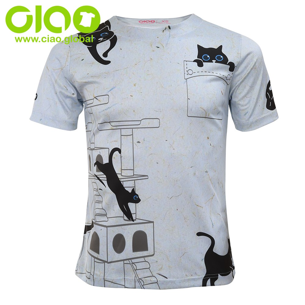 2020 sublimation druck t shirt