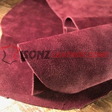 High Quality Suede Leather for Suitcase/High Heel Shoes/Boots/Belt/Notebook Cover