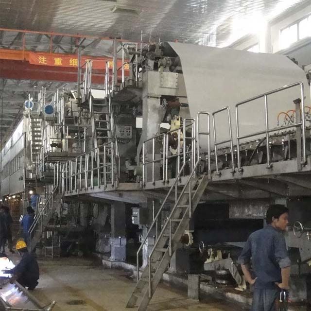 New Condition A4 paper making machine, small scale paper machine in a4 paper production line