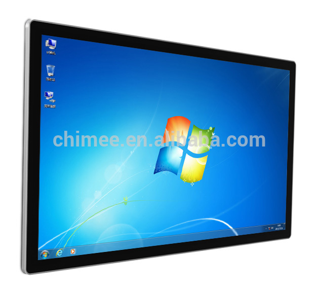 "55 ""wall mount slim full hd LED & LCD touch all in one computer (intel 1037U, i3, i5, i7 optioneel)"