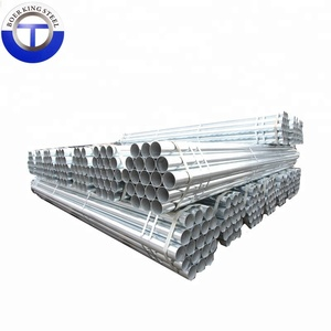 "DN 50 1/2""-12"" hot dip galvanised steel pipe for building material"