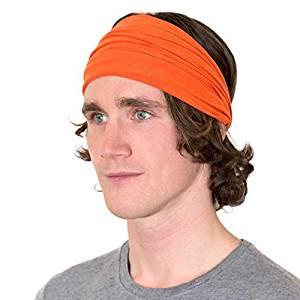 ce3fcc1e23cc Kooshoo ENSO Headband For Men. Premium Men s Headband That Wicks Away Sweat  and Never Slips