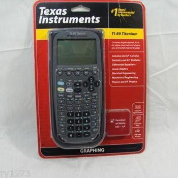 Ubrugte Texas Instruments Ti-89 Titanium Graphing Calculator New - Buy DC-72