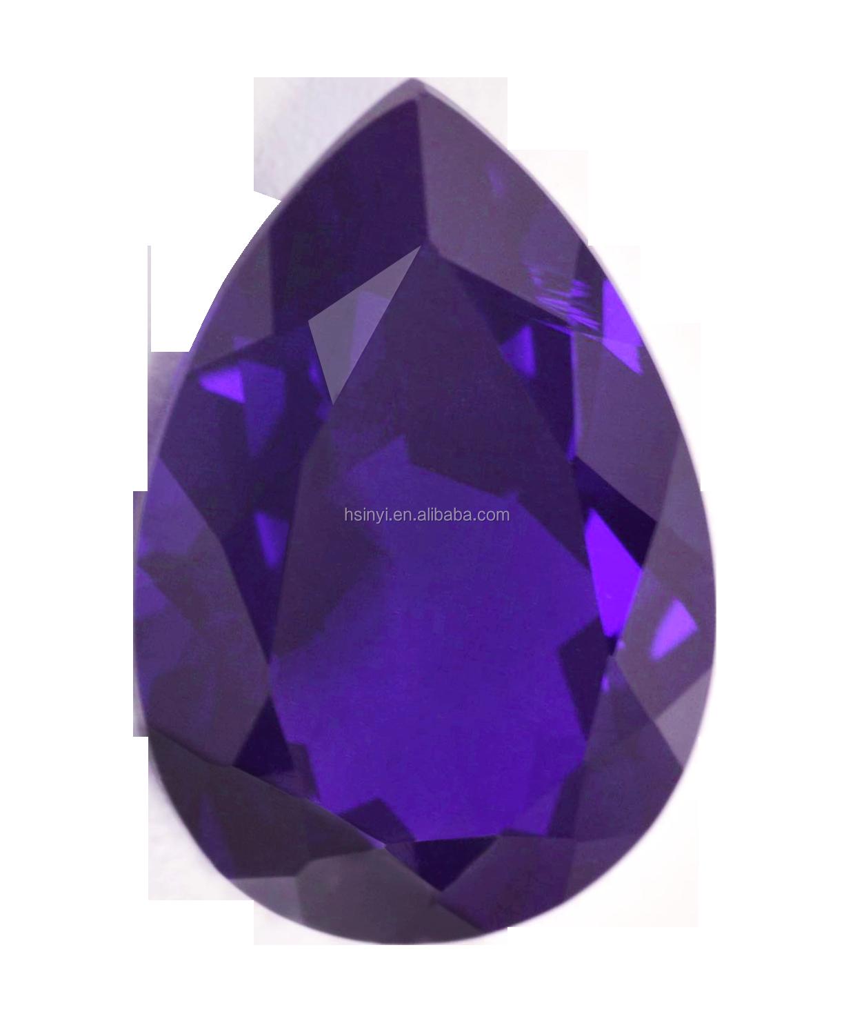 CZ Pear Champagne 6x8mm 7x9mm 8x10mm 8x12mm Loose AAA Cubic Zirconia Gemstone