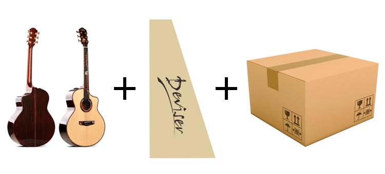 저렴한 가격 클래식 나일론 기타 현악기 중국에서 만든 액세서리