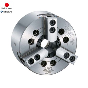 28.5kn - 249kn lathe chuck 4 jaw wedge type with large through hole