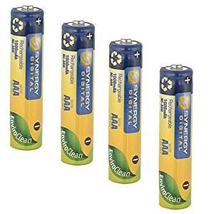 Panasonic KX-TGA660B Cordless Phone Batteries Ni-MH, 1.2 Volt, 1000 mAh - Ultra Hi-Capacity - Replacement Replacement of Pack of 4 AAA Batteries