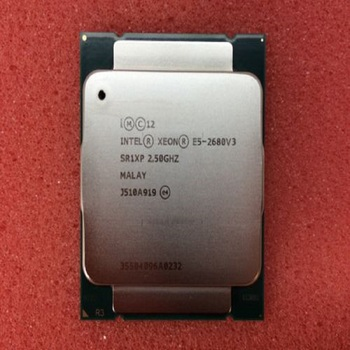 I-ntel Xeon E5-2680 V3 12-Core 2.5GHz Server CPU Processor Socket 2011-v3 SR1XP