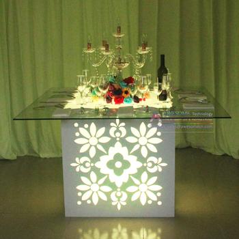 Tavolo Vetro Fai Da Te.Fai Da Te Di Base Da Tavolo Per Il Vetro Superiore Led Illuminato
