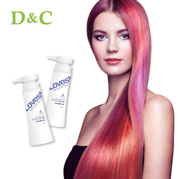 Salon Rose Blue Henna Speedy Hair Color Shampoo View Hair Salon