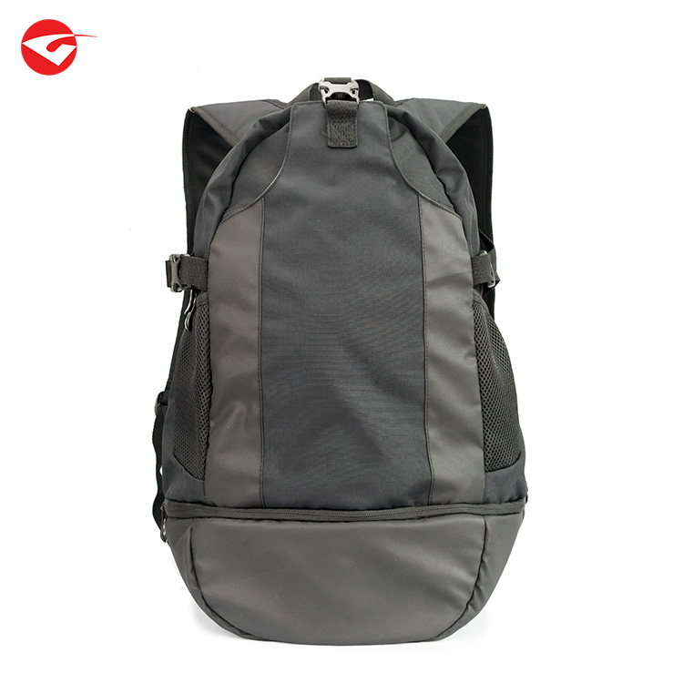 Custom high quality mens travel lap top sports <strong>backpack</strong> with shoe compartment