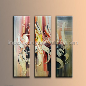 islamic art islamic wall art 5 panel painting 3 panel canvas