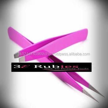 ca8f95a904a7 Speckled pink color eyelash extension tweezers  new color of eyelashes  tweezers  tweezers for eyelash