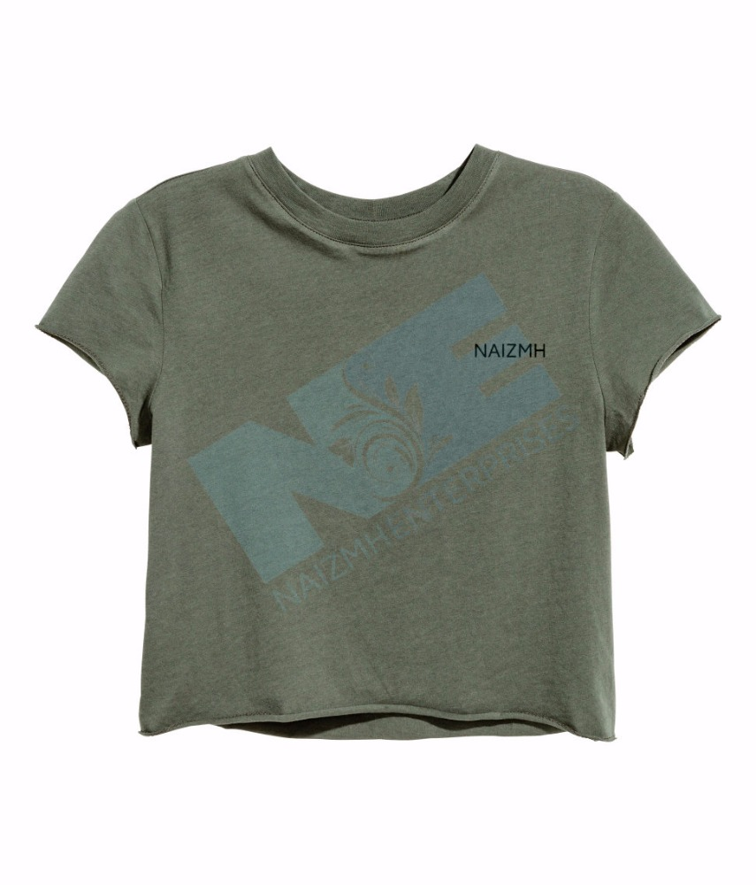 100% cotton Women OEM Casual smart modern short t shirt
