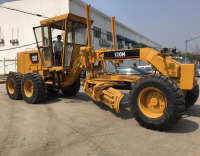 Good Performance Used Motor Grader Caterpillar 120H made in Japan / USA, Construction Equipment for hot sale
