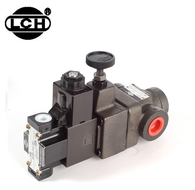 LCH Hydraulic Solenoid Controlled Relief Valve BST-10-1-2B2