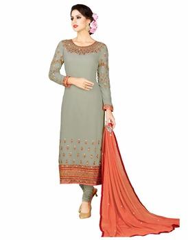d26b76860 Salwar kameez Designs   Women Casual Wear Semi Stitched Pakistani Salwar  Suits   Latest Embroidery Dresses