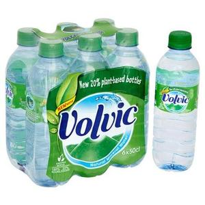 Volvic Natural spring Water 500ml, 1L, 1.5L Plastic Bottles
