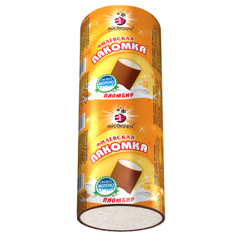 FILYOVSKAYA LAKOMKA HIGH-FAT PLOMBIERE ICE CREAM