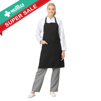 Easy Wash Soft Polyester fabric Chef professional Apron