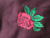 Fashion Thick Pullover Mens Embroidered Rose Logo Long Sleeve Heavy Fleece Hoodies