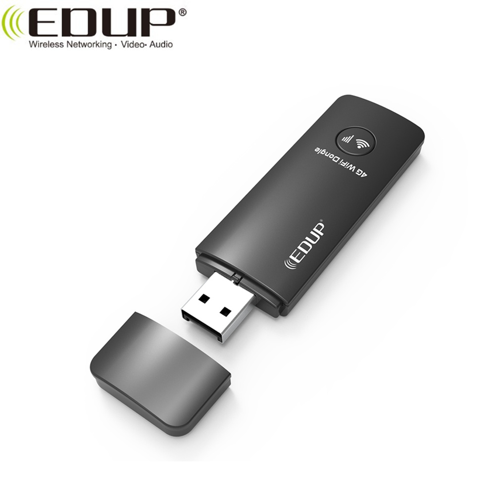EDUP Fast Speed 150Mbps WiFi Unlock 3G WCDMA 4G LTE USB <strong>Sim</strong> Card Dongle