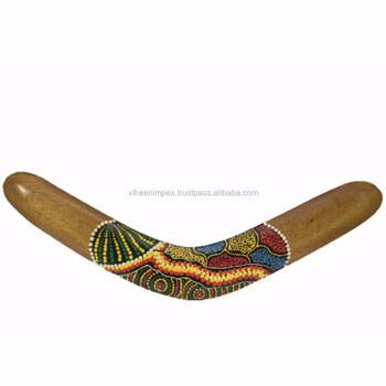 Exclusive Handmade Wooden Boomerang Handicraft Buy Jaipur Wood