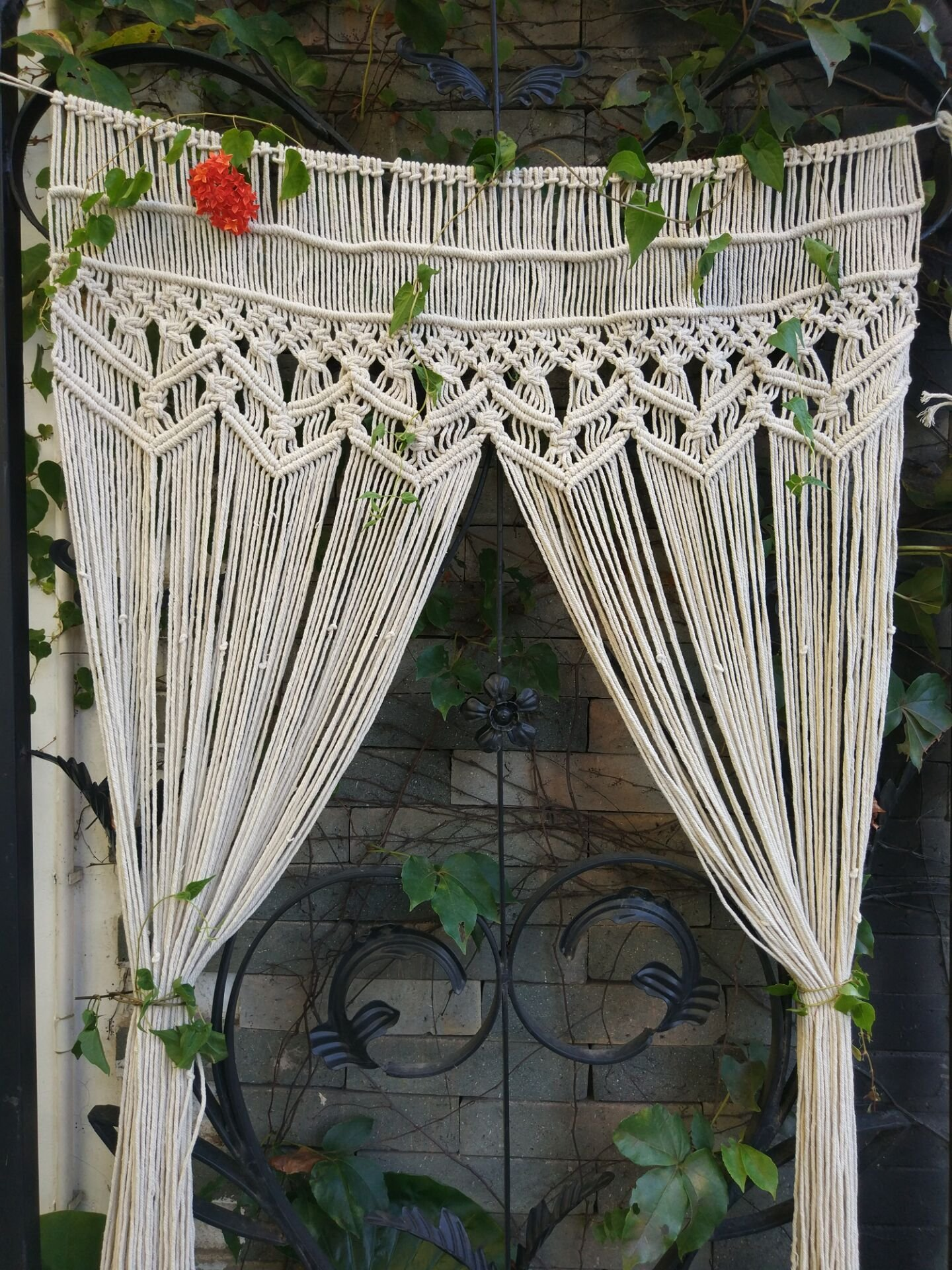 Get Quotations Riseon Macrame Wall Hanging Tapestry Door Room Divider Curtains