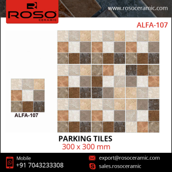 Manufacturer of Best Digital Parking Vitrified Tiles for Floor from India