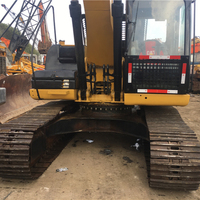 Hot sale Used CAT 320 High Quality 320D Used Crawler Excavator 20 ton