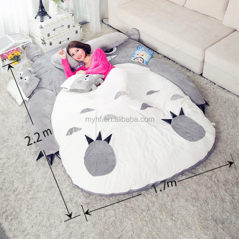 Pleasing Furniture Sofa Bed Baby Beanbag Floor Sofa Bed Totoro Bed Sleeping Bag Buy Sofa Bed Colorful Sleeping Bag Totoro Sofa Bed Product On Alibaba Com Lamtechconsult Wood Chair Design Ideas Lamtechconsultcom