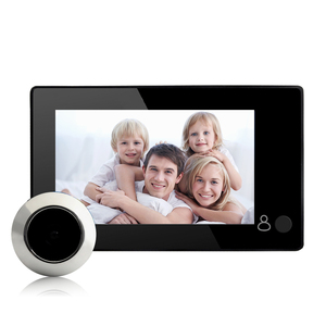 4.3 inch photo taking front door peephole security camera