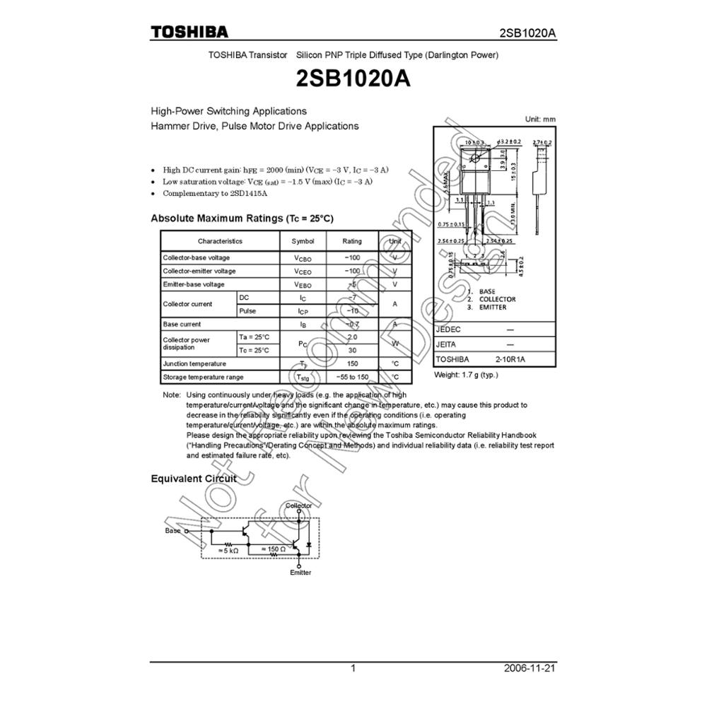 Toshiba Darlington Wholesale Suppliers Alibaba Circuit Diagram Currents In The Pair