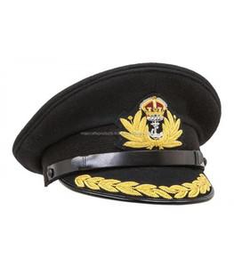 Reproduction WW2 Royal Navy Admiral Cap