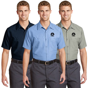uniform work shirts for men work wear shirt