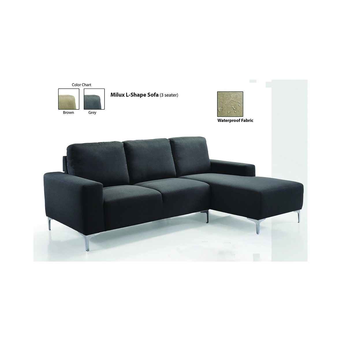 Premium Waterproof High Quality L Shape Sofa From Malaysia Buy